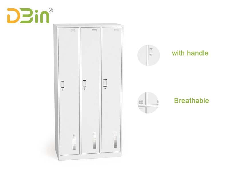 3 door locker