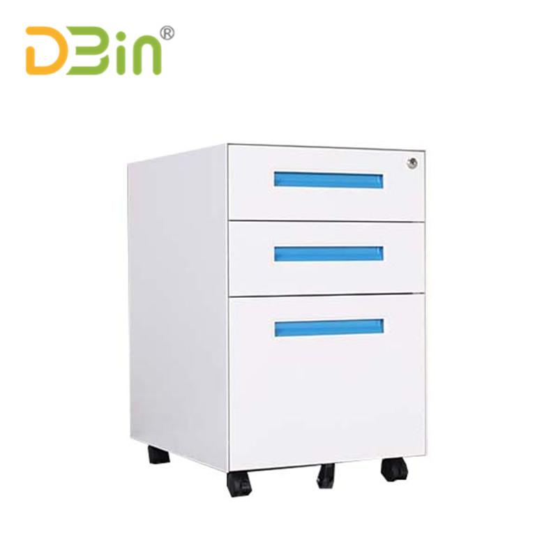 3 drawer blue mobile pedestal01