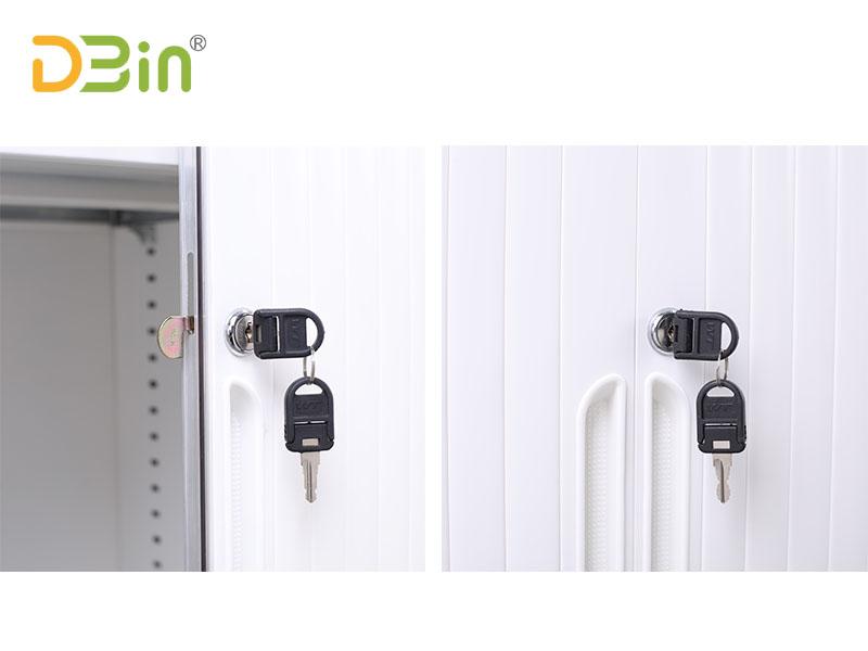 locable tambour door cabinets