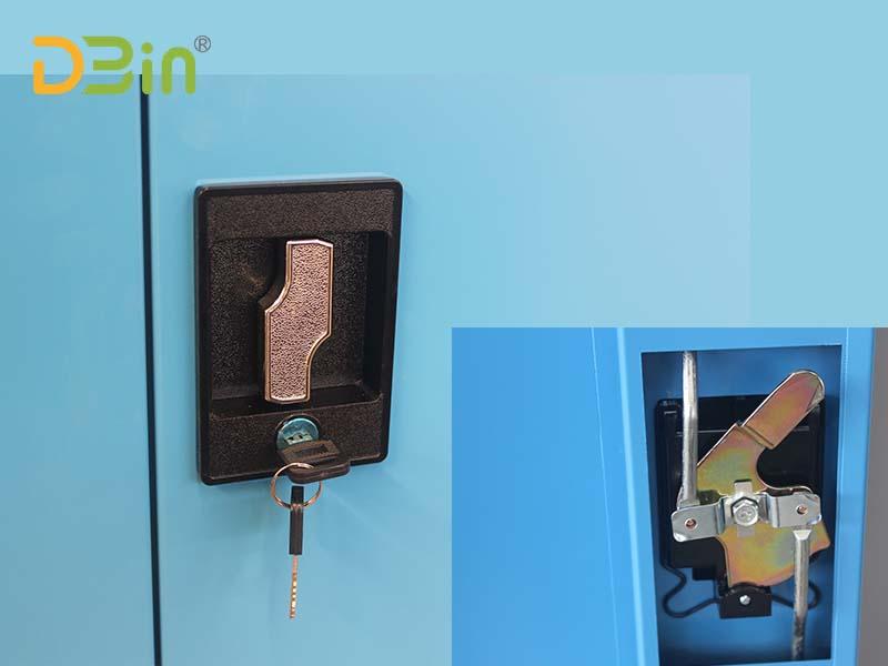 lockable steel cupboard