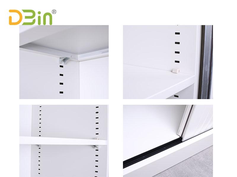 office tambour door cabinet