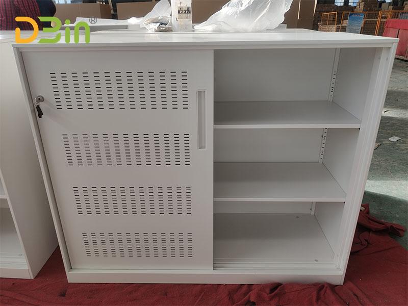 sliding door file cabinets lockable
